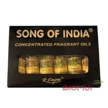 "Парфюмерное масло ""Song of India"" (набор из 6-ти масел)"