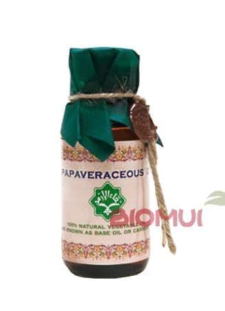 Маковое масло ZeitunВспомогательные масла<br>Идеально подходит для ухода за истощенной, чувствительной и зрелой кожей. Так же это нежное масло прекрасно подходит для детского ухода, отлично смягчая и успокаивая кожу ребенка.<br>