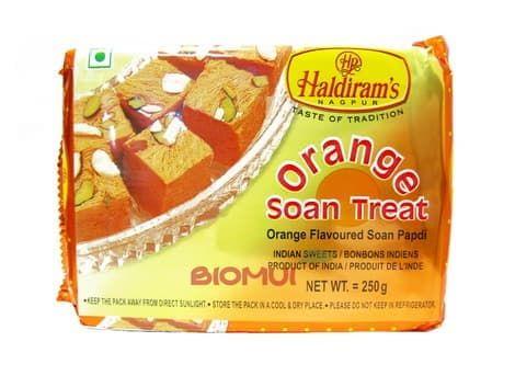 Индийская сладость «Соан папди» с апельсином «Haldirams»Восточные сладости<br><br>