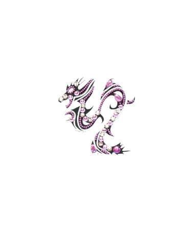 Бинди для тела (тату из страз) DragonБинди<br><br>