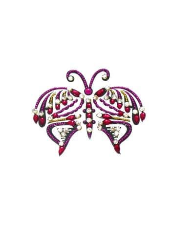 "Бинди для тела (тату из страз) ""Papillon"" от BioMui"
