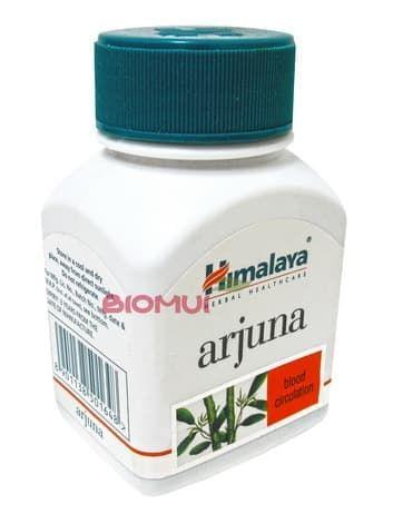 Арджуна Arjuna (terminalia arjuna) HimalayaПищевые и витаминные добавки<br>Эффективное растительное средство для лечения сердечно-сосудистых заболеваний.<br>