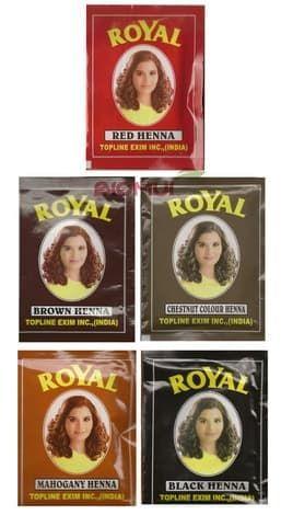 Хна для волос «Royal»