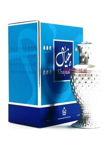 Масляные духи KhayaalЭксклюзивные духи<br>Лаконичный и незатейливый серебристый флакон таит в себе эффектный древесно-цитрусовый парфюм.<br>