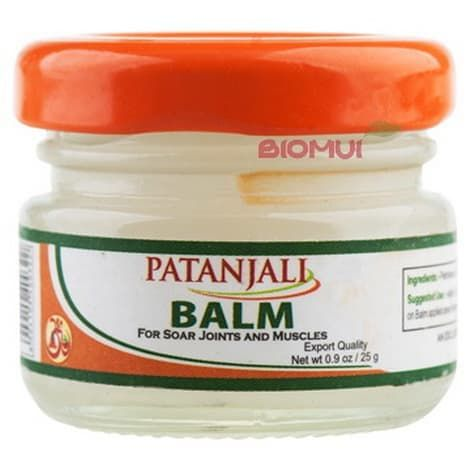 """Массажный бальзам от простуды и головной боли """"Patanjali"""" от BioMui"""