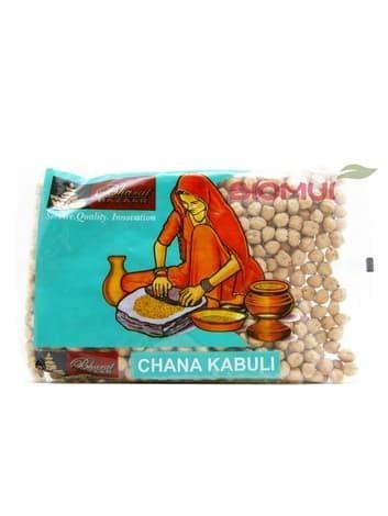Чана Кабули (белый нут, Chana Kabuli, Cicer arietinum)Бакалея<br>Белый нут отличается более нежным, ореховым вкусом, в отличие от коричневого более легок в приготовлении и так же богат растительным белком.<br>