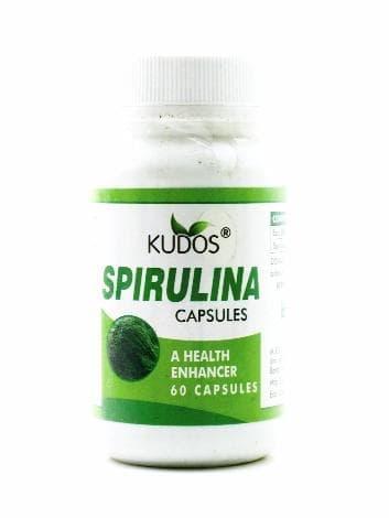 Спирулина KudosПищевые и витаминные добавки<br>Натуральный препарат Спирулина - эффективное средство, улучшающее обмен веществ, очищающее организм от шлаков и повышающее иммунитет. К тому же, Спирулина - источник витамина В12 и незаменимых аминокислот.<br>