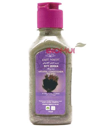 Кондиционер - бальзам для гладкости и блеска волос с маслом василька