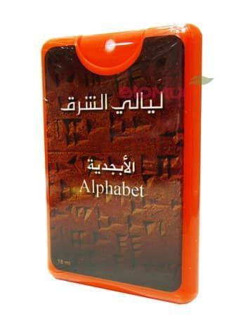Натуральные масляные духи Alphabet (Алфавит)Духи масс маркет<br>Удивительно многогранный цветочный аромат, который открывается настоящей азбукой чувств<br>