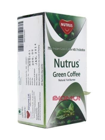 Зеленый кофе для сжигания жира Nutrus (саше)Арабский кофе<br><br>