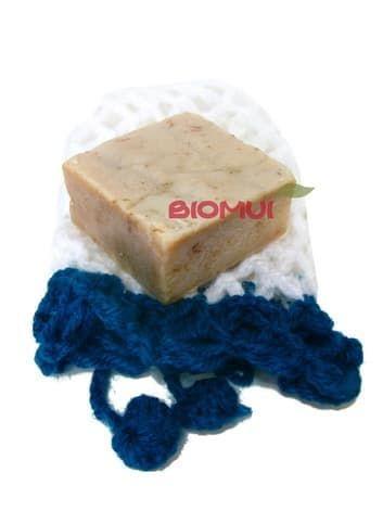 Натуральное мыло с эффектом мрамора