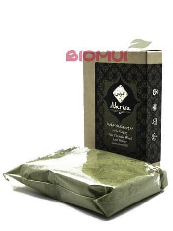 Порошок листьев усьмы (вайды красильной (Isatis tinctoria) «Adarisa» от BioMui