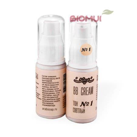 Натуральный BB-крем Zeitun (тон 1,2,3)Тональный крем<br>Легкое маскирующее средство, сочетающее в себе увлажняющие, регенерирующие, защитные и противовоспалительные свойства.<br>