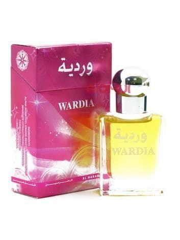Масляные духи Wardia Al-HaramainДухи масс маркет<br>В его сердечные ноты входят знаменитая чайная роза Таифи и герань, которые очень выигрышно оттеняет сладкий и сочный ананас.<br>
