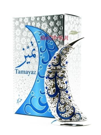 Масляные духи Tamayaz SilverЭксклюзивные духи<br>Изысканный, элегантный, в меру сложный мужской аромат.<br>