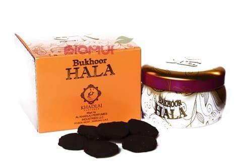Бахур удовый таблеточный HalaБлаговония<br>В составе таблеточного бахура Hala содержатся приятные нотки агарового дерева, а также ароматные акценты специй, уда и мускуса.<br>