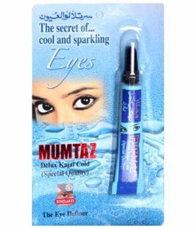"""Охлаждающая полужидкая сурьма для чувствительных глаз """"Mumtaz Delux Kajal Cold"""" от BioMui"""