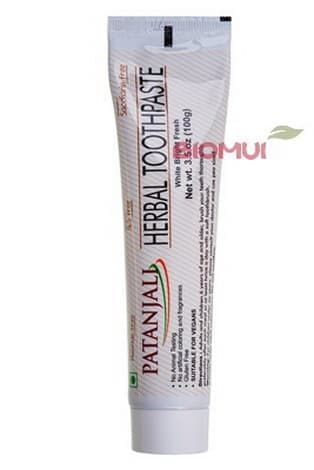 Натуральная аюрведическая зубная паста Patanjali