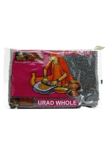 Маш черный (Urad Sabut)Бакалея<br>Машевая крупа в виде дробленых бобов применяется в разнообразных восточных блюдах; также ее используют для проращивания. Черный маш богат белком и отлично подходит вегетарианцам и диабетикам.<br>