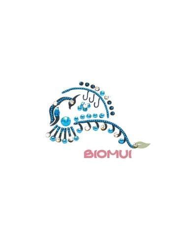 """Бинди для тела (тату из страз) """"Bird"""" от BioMui"""