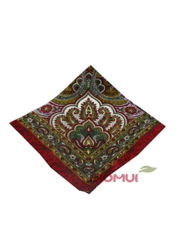 Шелковый платок (бордо)Платки<br><br>