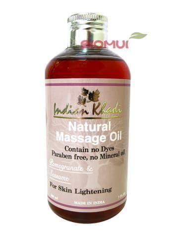 """Осветляющее гранатовое масло для тела """"Indian Khadi"""" (против пигментации) от BioMui"""