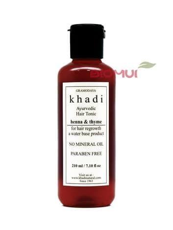 Аюрведический тоник для роста волос KhadiСерум<br>Уникальное аюрведическое средство не просто избавит Вас от выпадения и истончения волос, но и поможет стимулировать их естественный рост.<br>