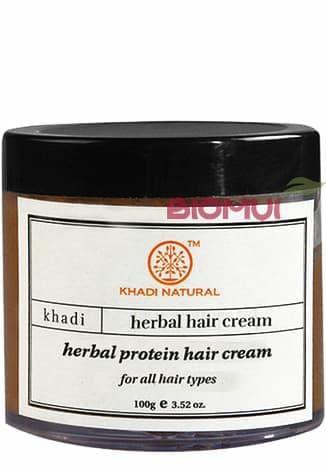 Восстанавливающий крем для волос с протеинами KhadiСерум<br>Выражено питает, выглаживает и восстанавливает поврежденную структуру волос, делая ее более послушной и шелковистой, защищает во время укладки и окрашивания.<br>