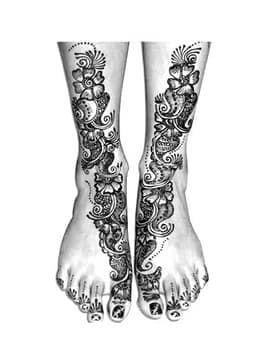 Как сделать временное тату в домашних условиях фломастером