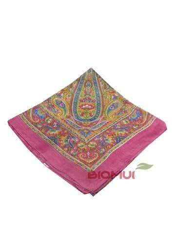 Шелковый платок  (розовый)Платки<br><br>