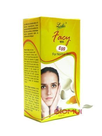 Яичная маска для нормальной кожи Lalas