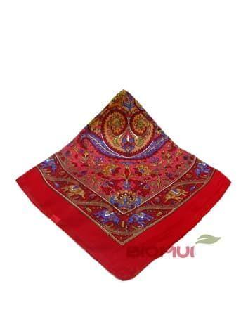 Шелковый платок (красный)Платки<br><br>
