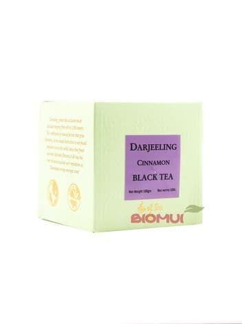 Натуральный крупнолистовой черный чай  с корицей DarjeelingНатуральный чай<br><br>