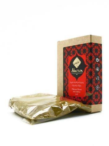 Пакистанская хна для волос с шафраном «Adarisa» (красная)