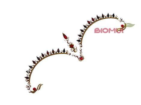 Бинди с надбровными украшениями (тату из страз) CrownБинди<br><br>
