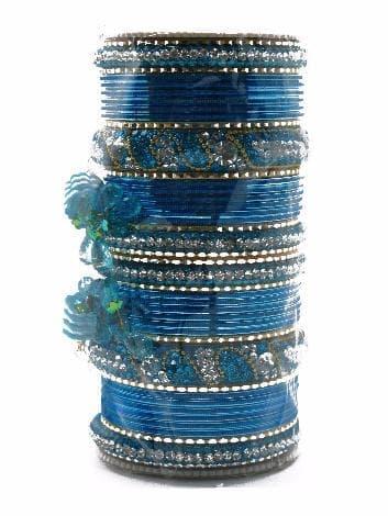 Свадебный набор браслетов Vedinga (Морская волна)Украшения<br><br>