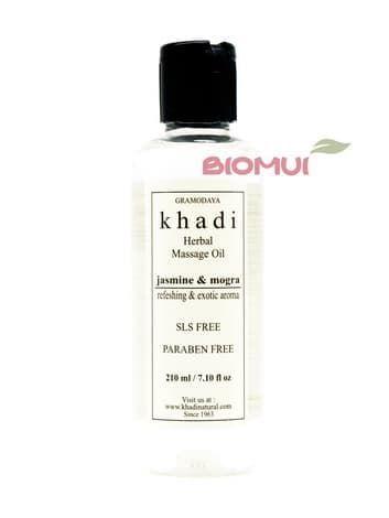 """Массажное масло с жасмином и могрой """"Khadi"""" от BioMui"""
