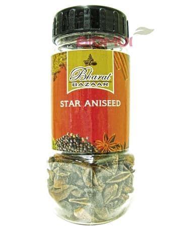 Бадьян (анис звездчатый)Специи и травы<br>Звездчатый анис прочно ассоциируется с Рождеством, ведь входит в состав традиционных печеных лакомств.<br>