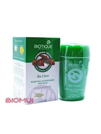 Очищающая маска против акне с гвоздикой BiotiqueМаска<br>Данное средство не только избавит вас от уже имеющихся воспалений, но и предотвратит образование новых. Маска сделает вашу кожу здоровой, свежей, гладкой и чистой!<br>