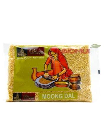 Маш желтый (Moong Dal)Бакалея<br>Вкус у желтого маша весьма приятный, нежно-сладковатый. Высокая питательная ценность маша жёлтого объясняется достаточным содержанием белка, железа, магния и фосфора. Считается, что маш более легкий для усвоения, нежели многие другие бобовые.<br>