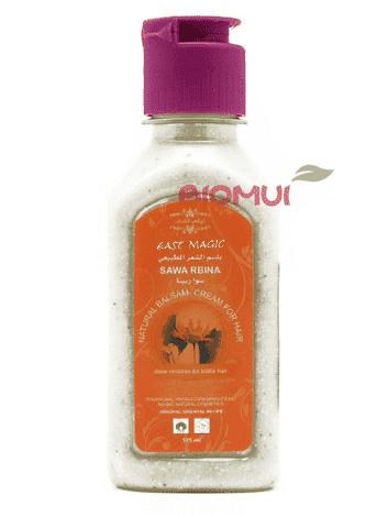 """Крем - ополаскиватель реставрирующий для ломких волос""""SawaRbina"""" от BioMui"""