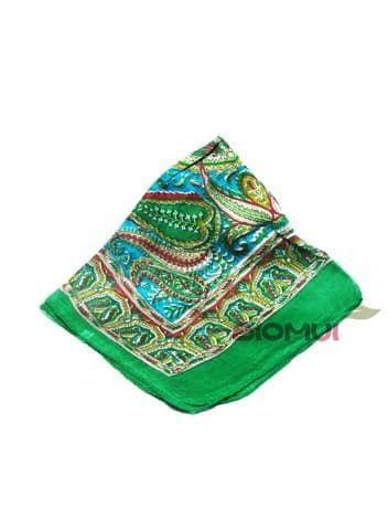 Шелковый шарф (светло-зеленый)Платки<br><br>