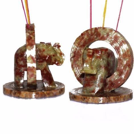 "Подставка для благовоний из камня ""Ring Elephant"" от BioMui"