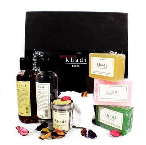 """Подарочный набор для ванны """"Khadi"""" от BioMui"""