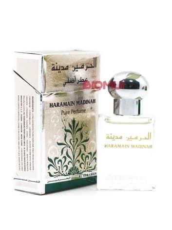 Масляные духи Haramain Madinah Al-HaramainДухи масс маркет<br>Легкий, свежий, прохладный, цветочно-пряный аромат с выраженными пряно-бальзамическими оттенками и терпким привкусом.<br>