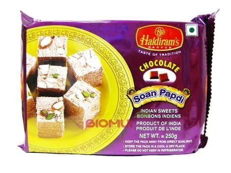 Индийская сладость «Соан папди» с шоколадом «Haldirams»Восточные сладости<br><br>