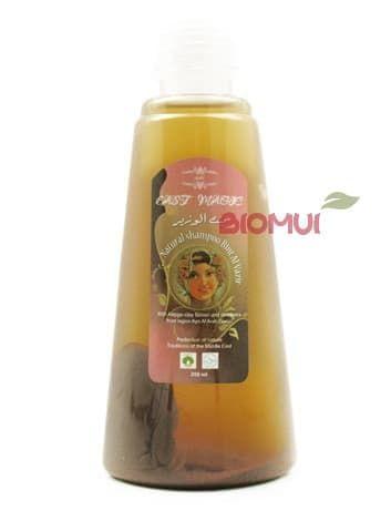 Оливково-лавровая эмульсия-шампунь с алеппской глиной «Bint Al Vazir» от BioMui
