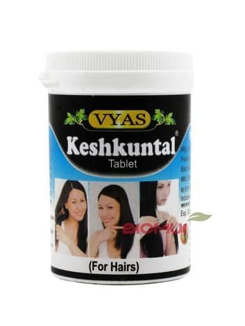Травяная пищевая добавка для стимуляции роста волос и остановки выпадения