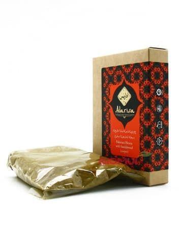 Пакистанская хна для волос с сандалом Adarisa (медная)Хна для волос<br>Хна придаст локонам яркий и сочный медный оттенок.<br>