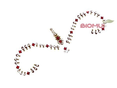 Бинди с надбровными украшениями (тату из страз) CrystalБинди<br><br>